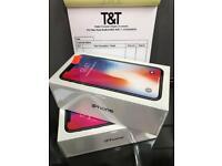 IPhone X 64gb sealed pack gray Virgin EE Network 12 month apple waranty