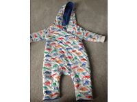 Cath Kidston all in one / pram suit -3-6 months new with tags