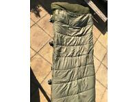 Nash indulgence bed chair sleeping bag and cover