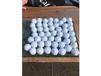 50 mixed golf balls good condition