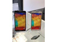 AS NEW SAMSUNG NOTE 3 32GB UNLOCKED WITH RECEIPT AND WARRANTY