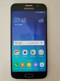 Samsung Galaxy S6 Black Unlocked (Faulty)