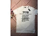 Diesel 1978 T-Shirt White Medium TD171 ii 06