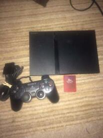 Slimline Sony Ps2 console