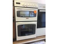 ***Tricity Bendix 50cm double oven cooker***Free Delivery**Fitting**Removal