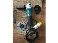 Makita 110v Angle Grinder New in Box
