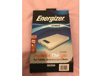 Portable charger energizer brand new