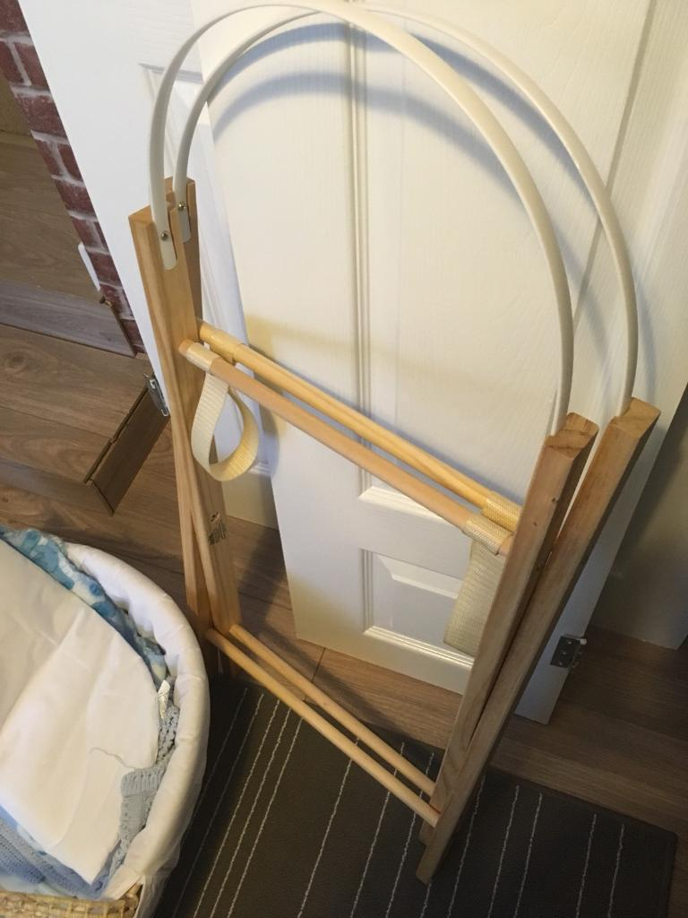 FREE Moses basket with accessories and stand