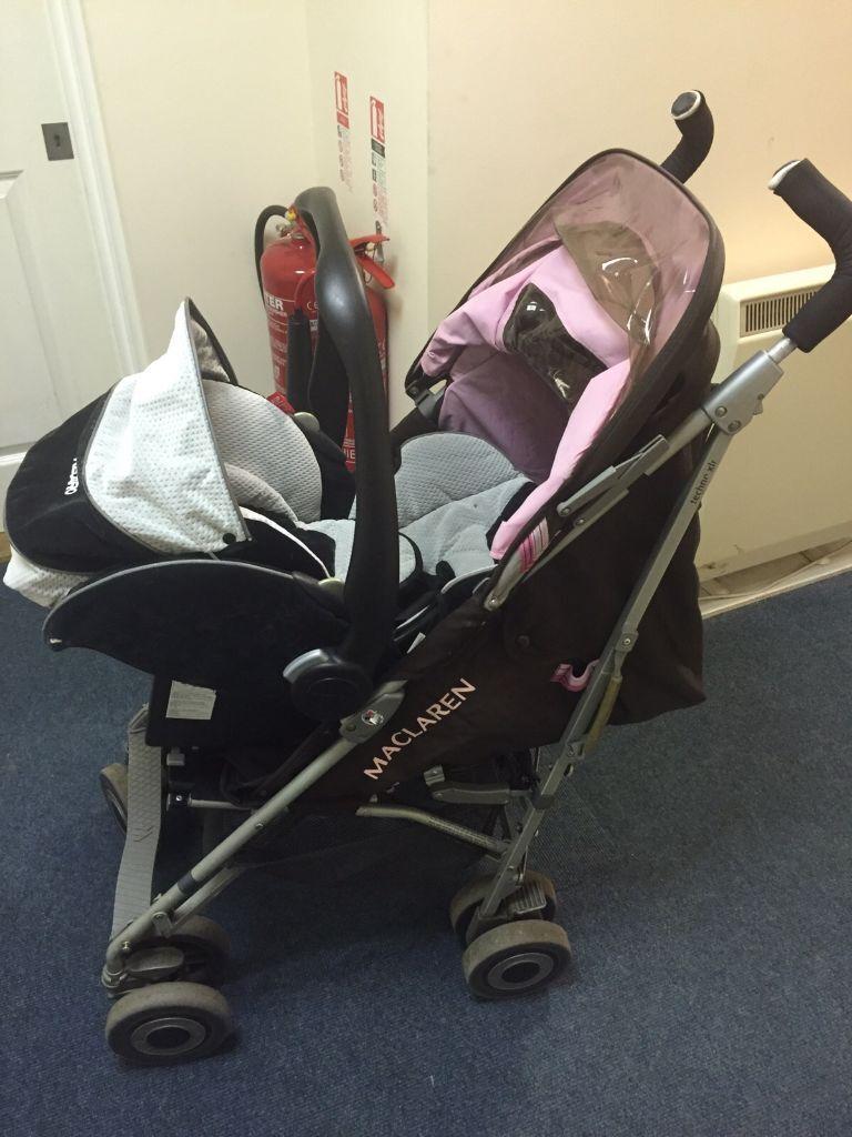 Maclaren Techno XLR Stroller / Travelsystem | in Watford ...