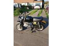 Monkey bike 125 monkeybike 125cc semi auto pit bike road legal