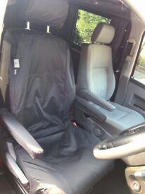 VW Transporter pair of waterproof seat covers.