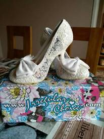 Irregular choice mal e bow shoes