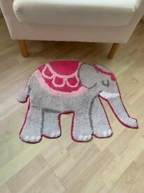 Elephant Rug Mat grey pink from ASOS Sass & Belle