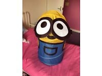 Minions Collapsable Storage/ Washing Basket
