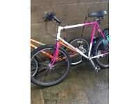two bikes from a house clearence, , priced to sell