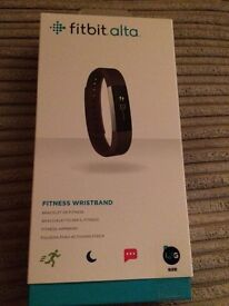 Fitbit Alta wristband, new in box , will accept sensible offer