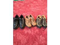 Brand new 3 pairs cotton trader mens shoes uk 7