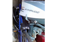 18hp Evinrude outboard motor