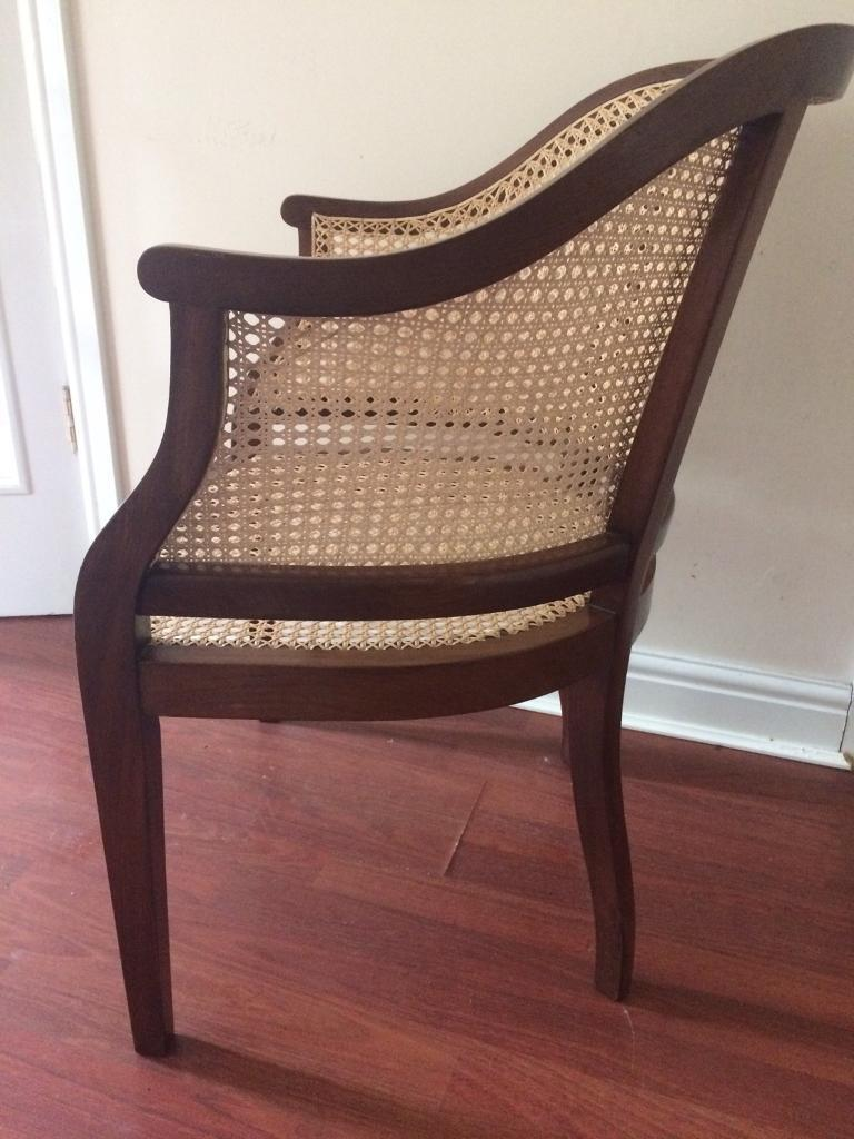 Antique bergere chair - Antique Bergere Chair Image 1 Of 3