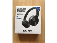 bluetooth nfc wireless sony headphones
