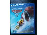 Cars 3 Bluray BRAND NEW AND SEALED
