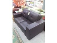 2 seat leather sofa REF:GT467