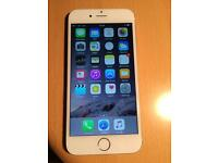 iPhone 6 64gb white silver unlocked brand new condition