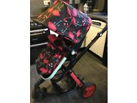 Cossetto pram pushchair flamingo