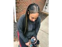 Afro Caribbean hair dresser romford