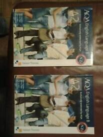AQA English Language B books