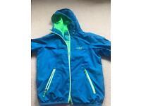Bright blue Boys Rain Jacket Age 8