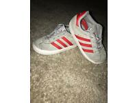 Adidas gazelle kids trainers uk 7k like new