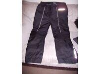 Frank Thomas warm waterproof motorcycle trousers