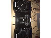 QUICK SALE: Numark NDX500 CDJ pair & Numark Mixer £250