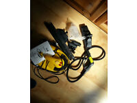 yellow steam cleaner