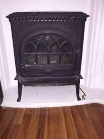 Fantastic solid cast iron wood burner £450