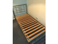 Single bed frame ( metal brought from dreams)