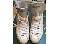 Ice Skates Womens UK2 Lake Placid Figure Skates Used Good Condition