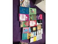 Social work books all in excellent condition