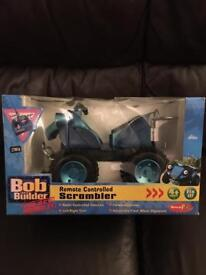 Bob the builder remote controlled Scrambler