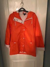 Top Shop Rain MAC/Coat Size 8