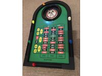 ROULLETTE AND CRAPS BOARD GAME
