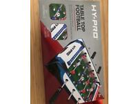 Brand new in box table football
