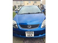Rare Blue Honda Civic Sport 2005 For Sale!!!