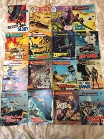 100+ commando war comics