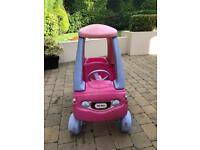 CHILDS LITTLE TIKES CAR