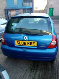 Renault clio 06 diesil 1.5 fully serviced