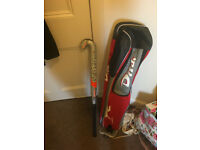 Hockey stick and case for sale. £8