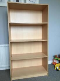 Light brown Bookcase