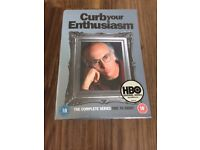 Brand new in cellophane Curb your Enthusiasm dvd Box Set series 1 - 8